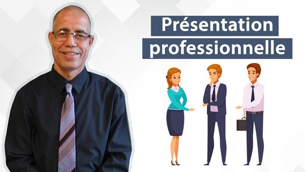 Accès-emploi | La présentation professionnelle