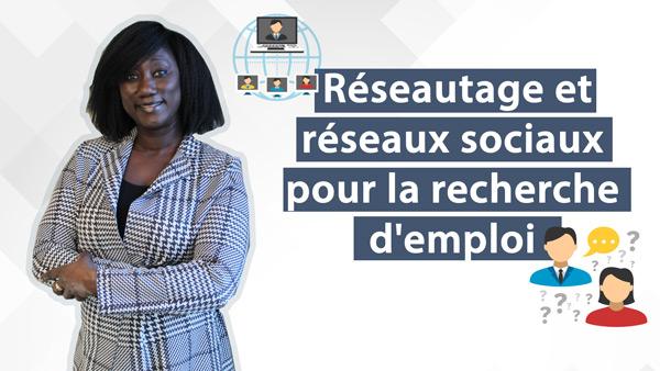 Accès-emploi | Réseautage et réseaux sociaux pour la recherche d'emploi